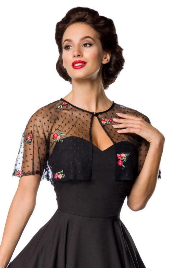Vestido Vintage con Bolero Bordado