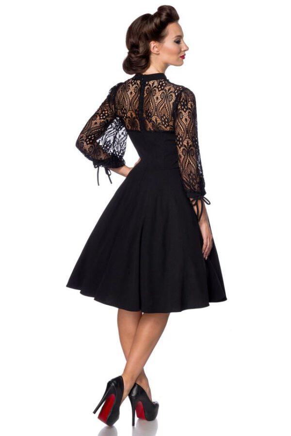 Vestido Vintage Paris-Negro