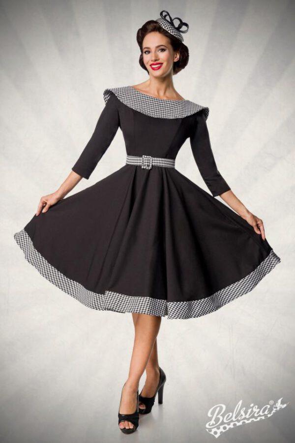Vestido Vintage con Cuello