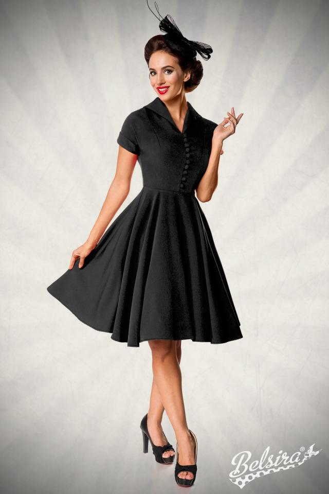 Vestido Belsira Swing Negro