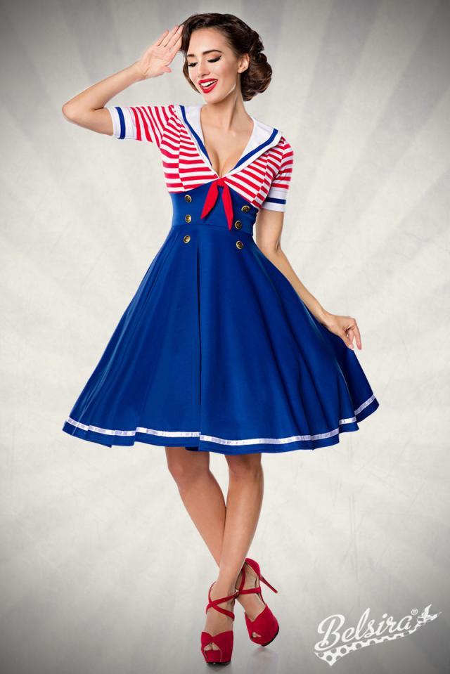 Vestido Swing Sailor