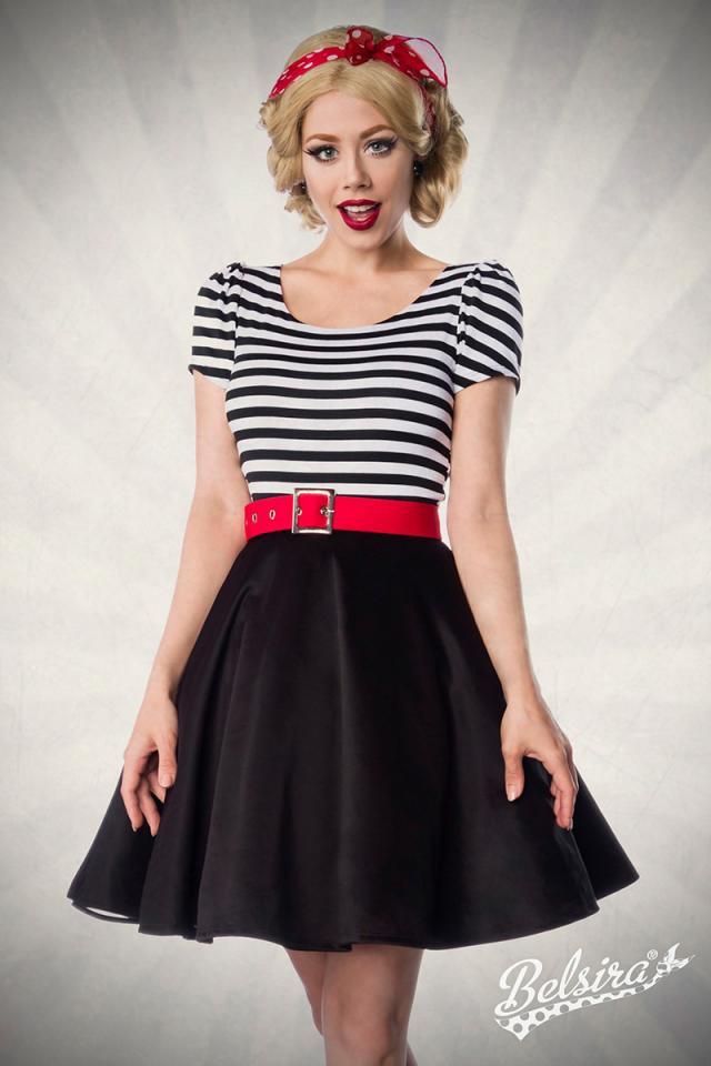 Vestido Jersey Belsira Black