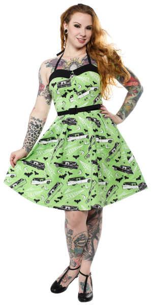 Vestido -Death Cab- Sourpuss Verde