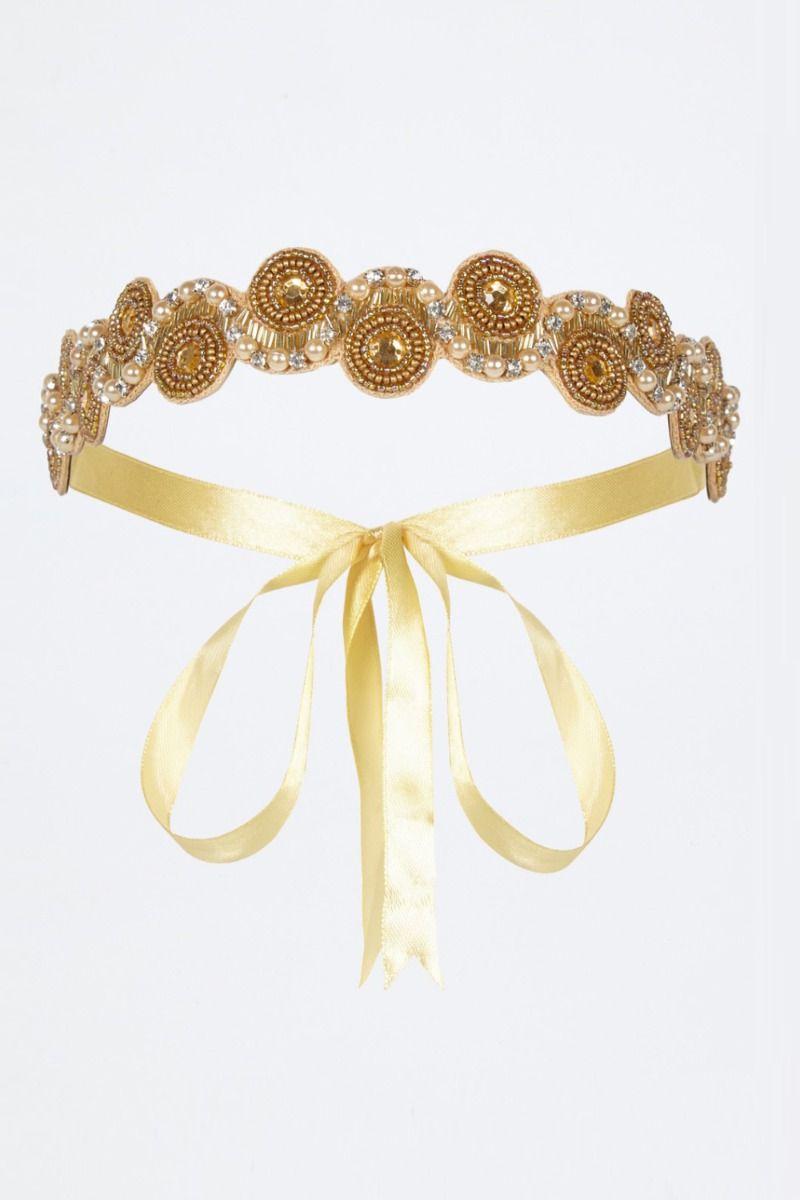Diadema Lady GatsbyLady Gold