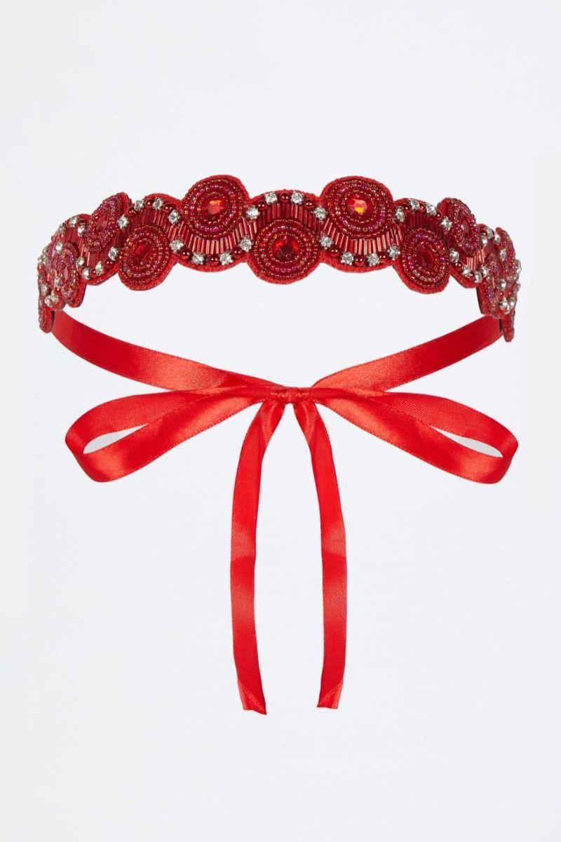 Diadema Lady GatsbyLady Red
