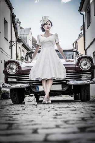 Vestido Bridal Rockabilly Goinsane