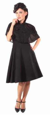 Vestido Shiny Cape Goinsane Negro