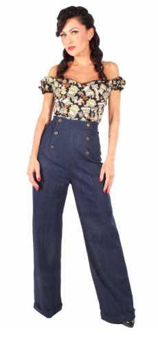 Pantalón Rockabilly Jeans Goinsane