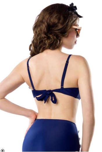Top de Bikini PinUp Sailor