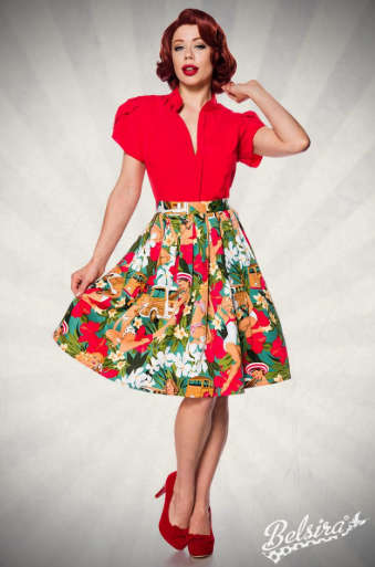 FALDA SWING SUMMER PINUPS