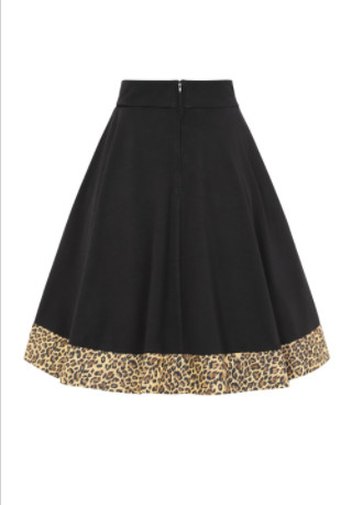 Falda swing Black & Leo