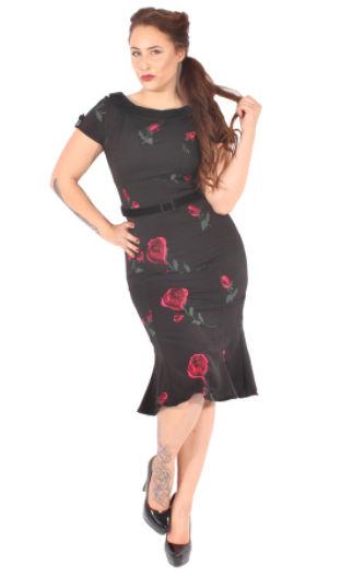 Vestido Glam Roses -Goinsane-