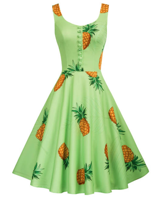Vestido swing Pineapple