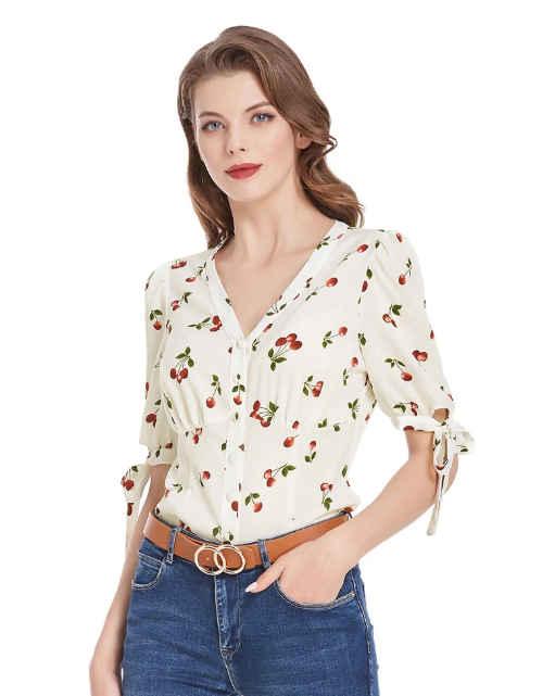 Camisa Cherries