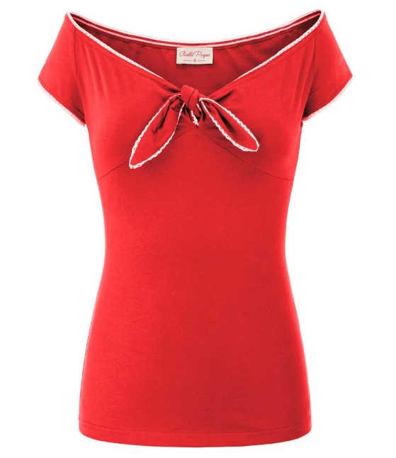 Camiseta Bow-Tie