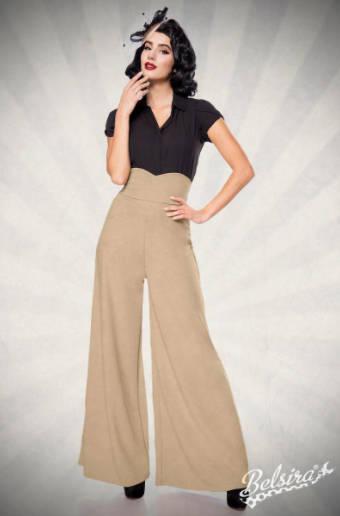 Pantalón Marlene Camel