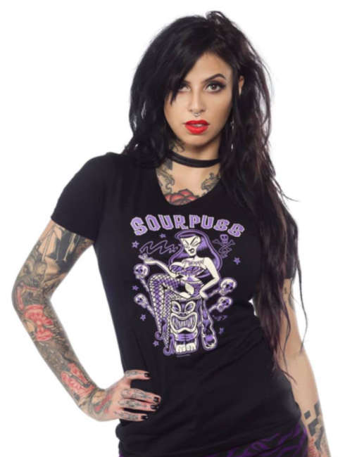 Camiseta Tiki Time Sourpuss