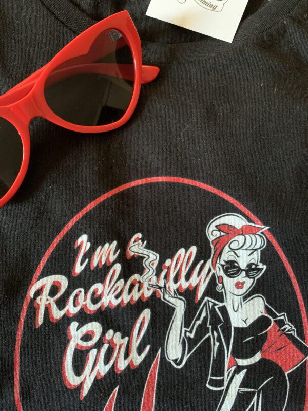 CAMISETA ROCKABILLY GIRL